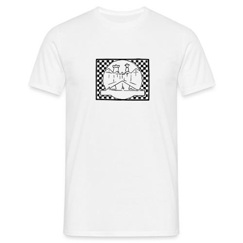 Kaal logo - Mannen T-shirt
