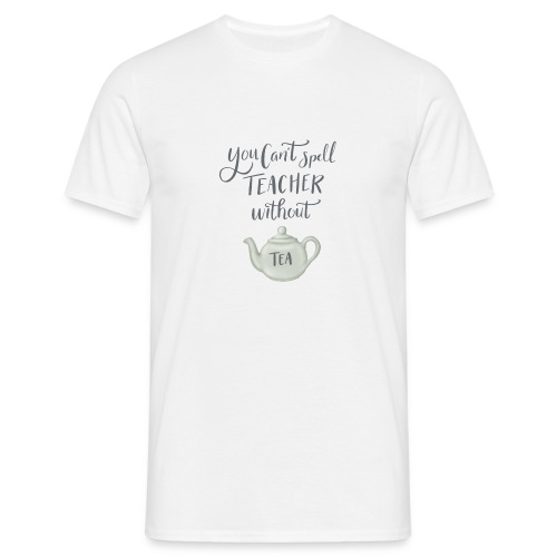 Tea teacher - T-shirt herr