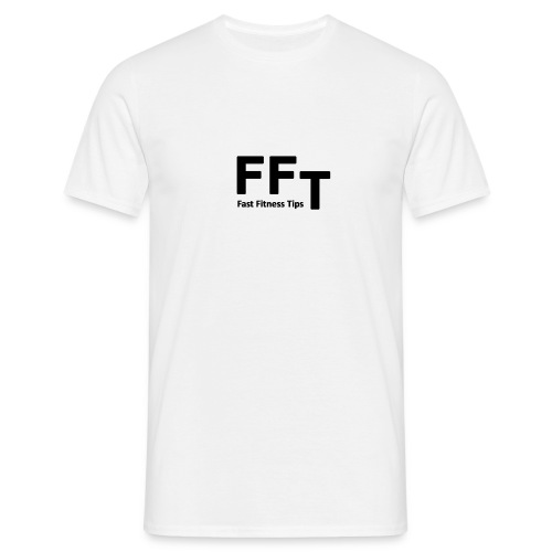FFT simple logo letters - Men's T-Shirt