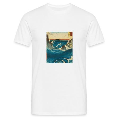 KANOZ Design, Mer Sauvage - T-shirt Homme