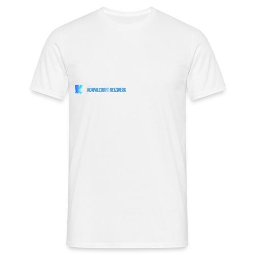 KomvilCraft | MINIMALISTISCH + Text - Männer T-Shirt