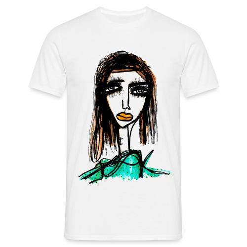 Long Lashes - T-shirt herr