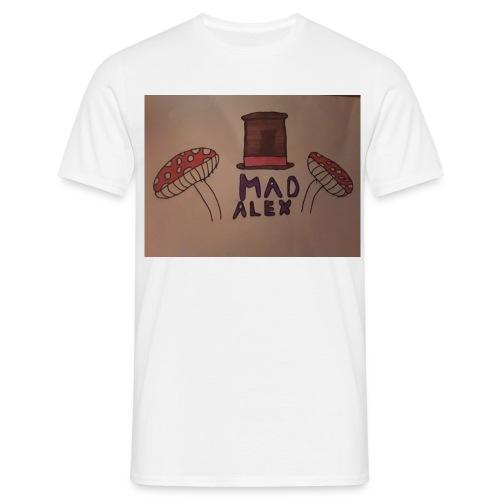 Mad Alex Logo - Men's T-Shirt