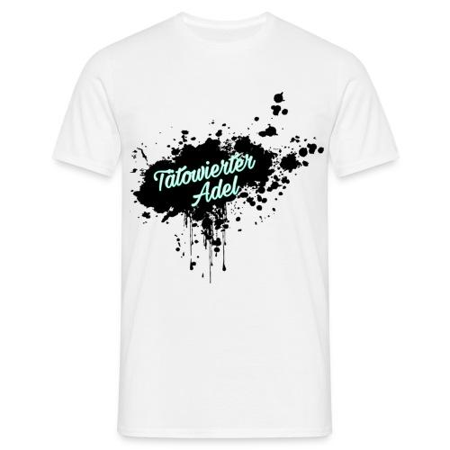 Tätowierter Adel - Männer T-Shirt