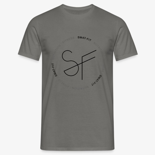 SMAT FIT nutrition & fitness white home - Camiseta hombre