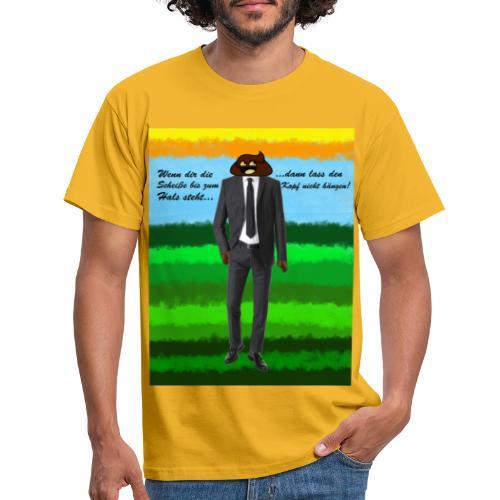 scheiß design - Männer T-Shirt