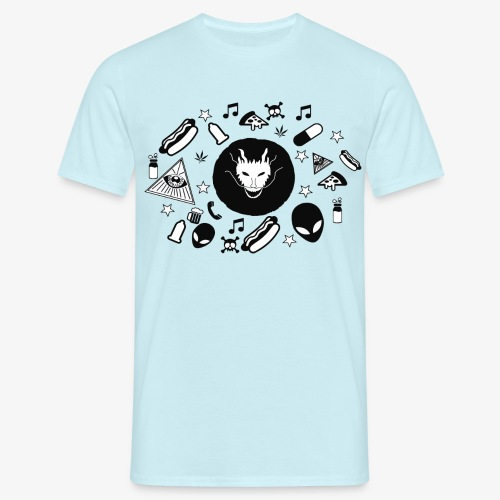 TRIPPY - Mannen T-shirt