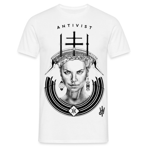 BLACK png - Männer T-Shirt