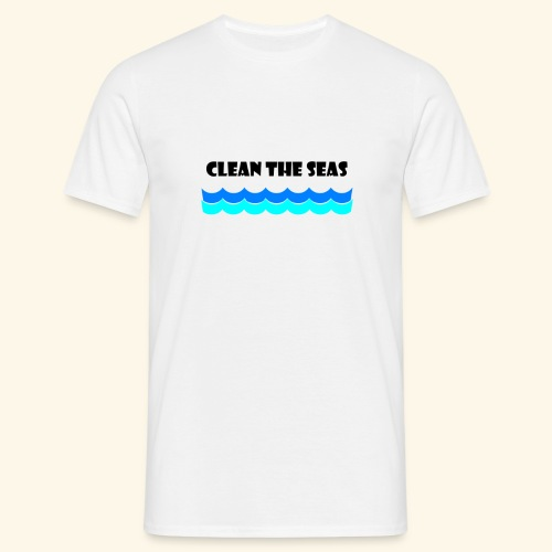 clean the seas - Männer T-Shirt