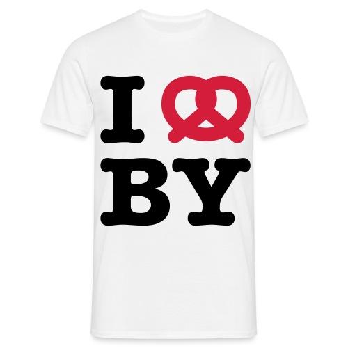 I ❤ Bayern - Männer T-Shirt