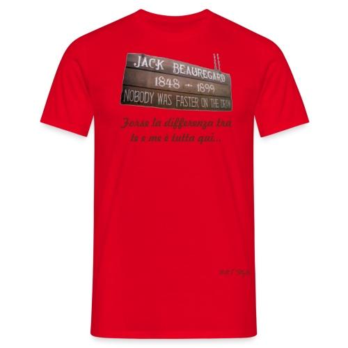 Beauregard Differenza fronte - Maglietta da uomo