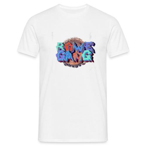 RoweGang Basic Logo - Miesten t-paita