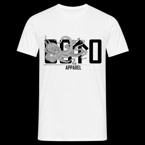 OctoApparel Logo schwarz - Männer T-Shirt