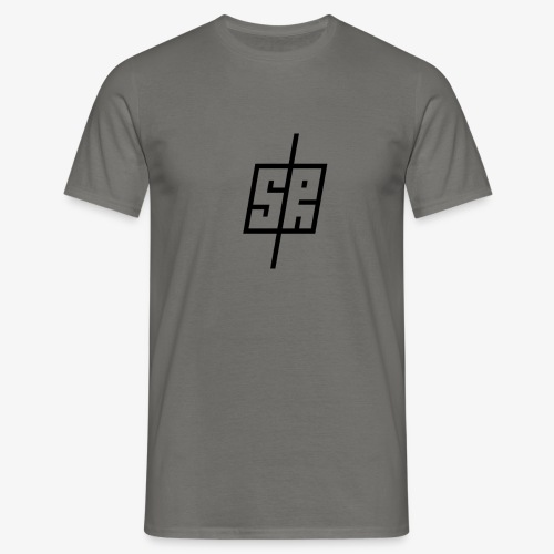 Black Logo (No Background) - Men's T-Shirt