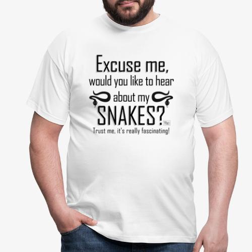 Excuse me Snakes II - Miesten t-paita