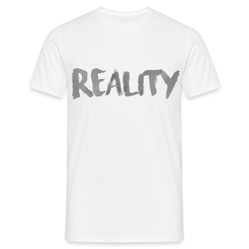 White_REALITY - T-shirt Homme