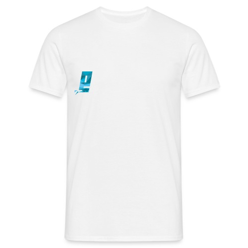 Eventuell Logo small - Shirt White - Männer T-Shirt