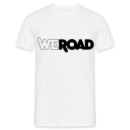WeRoad logo nero - Maglietta da uomo