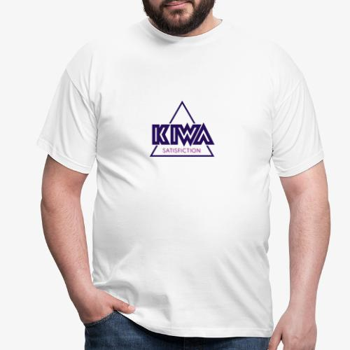 KIWA Satisfiction Blue - Men's T-Shirt