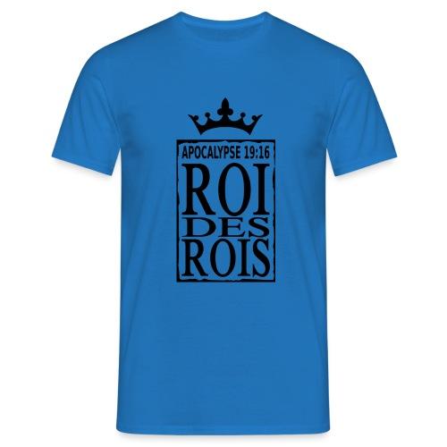 rdrBlack RefOver CrownBlackOver CadreBig png - T-shirt Homme