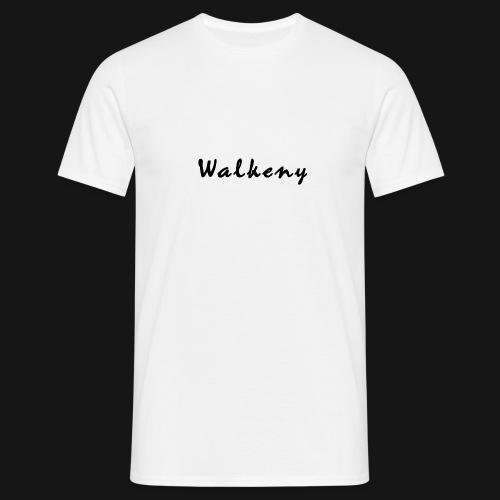 Walkeny Schriftzug - Männer T-Shirt