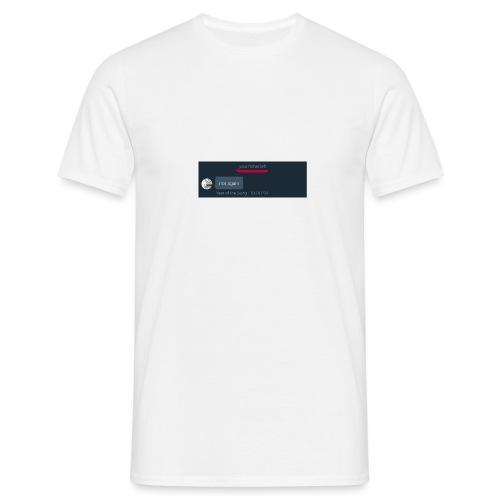 Your Father Left ..... (MEME LINE) - Men's T-Shirt