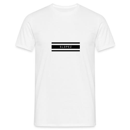 SLOPEZ Logo - T-skjorte for menn