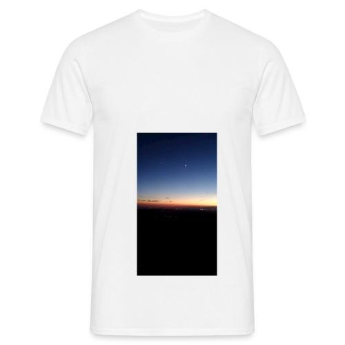 puesta de sol - Camiseta hombre