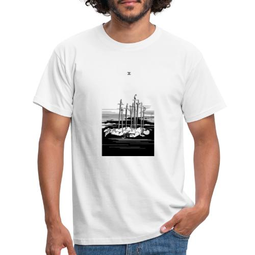 Revenge Capitalism (on white) - Men's T-Shirt