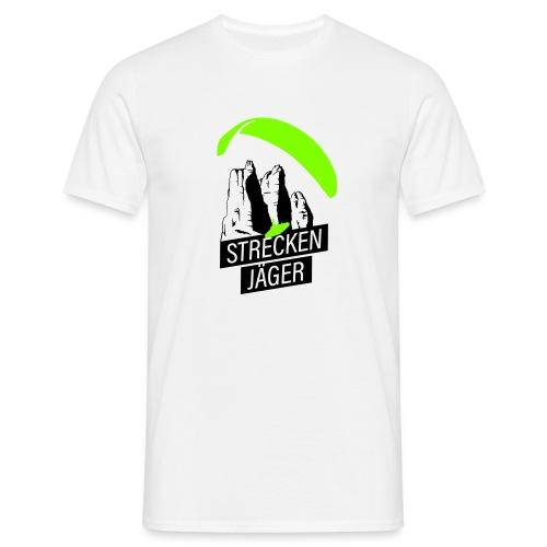Streckenjäger Gleitschirm XC Paragliding - Männer T-Shirt