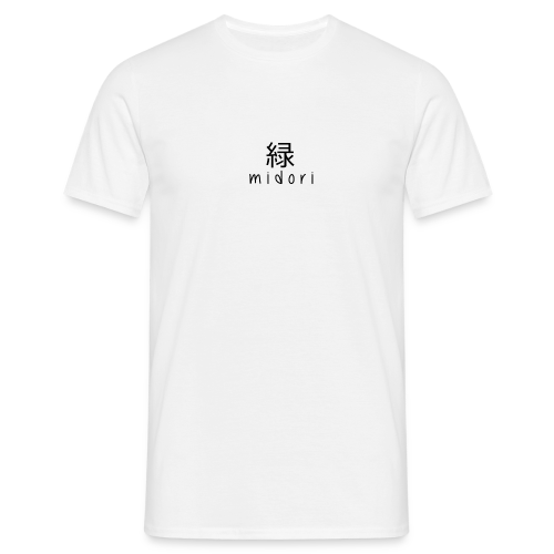 midori japan - black - Men's T-Shirt