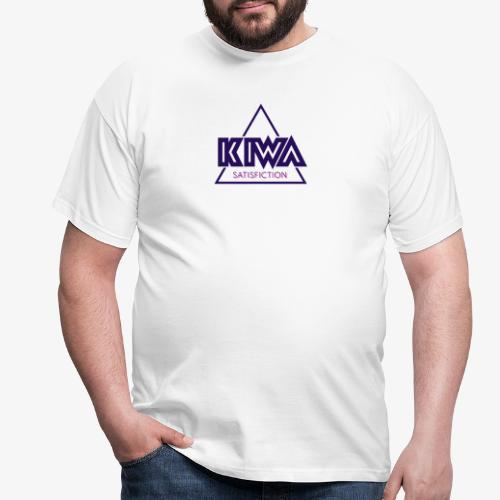 KIWA Satisfiction Blue - Men's T-Shirt
