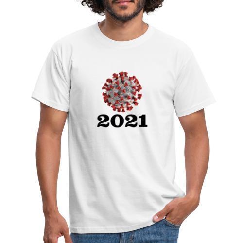 Virus 2021 - Männer T-Shirt