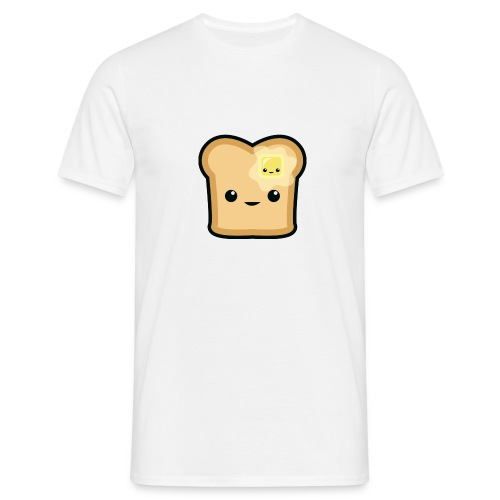 Toast logo - Männer T-Shirt