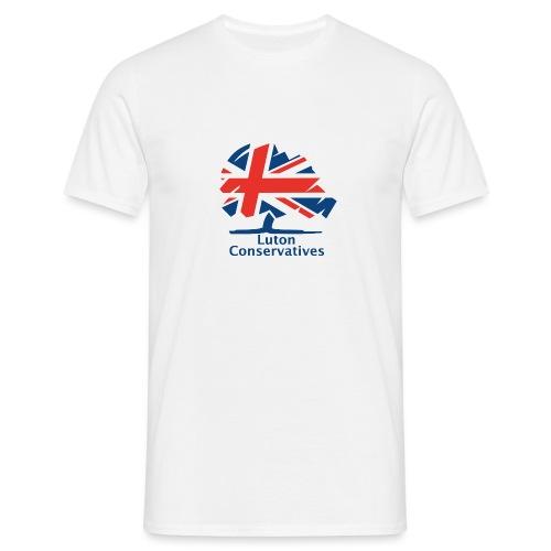 Luton Conservatives Badge - Men's T-Shirt