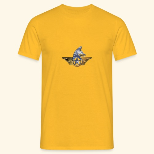 warrior fox - Maglietta da uomo