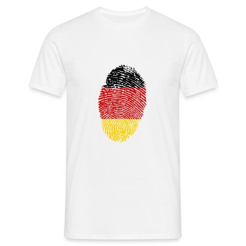 GERMANY FINGERPRINT - Men's T-Shirt