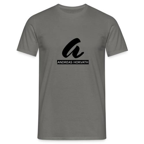 Andreas Horvath Logo B/W - Männer T-Shirt