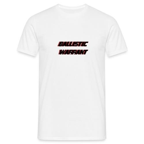 BallisticWarrrant - Mannen T-shirt