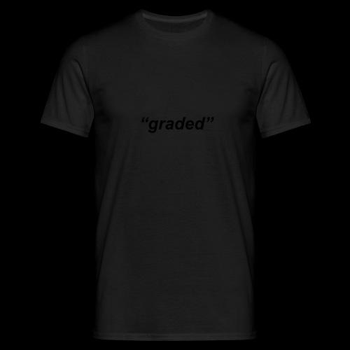 Simple Logo, Graded - Men's T-Shirt