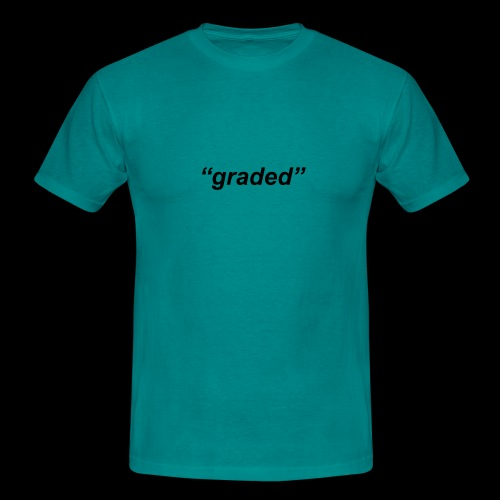 Simple Logo, Graded - Men's T-Shirt