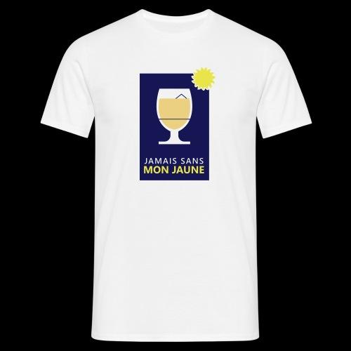 Jamais sans mon jaune - T-shirt Homme