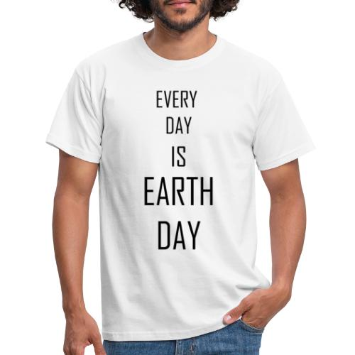 Klimawandel - earth day - Männer T-Shirt