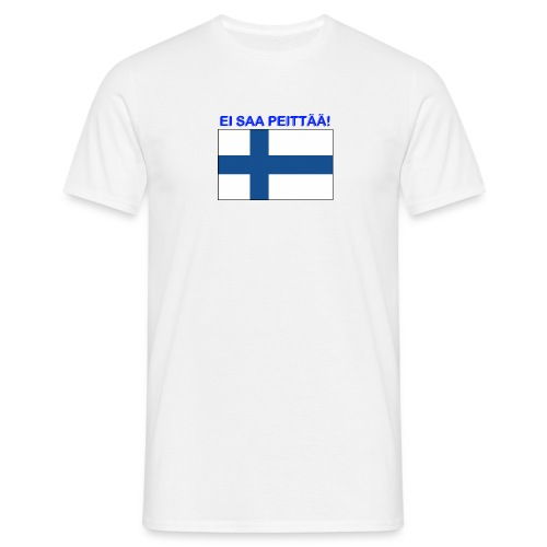 ei_saa_peittaeae - T-skjorte for menn
