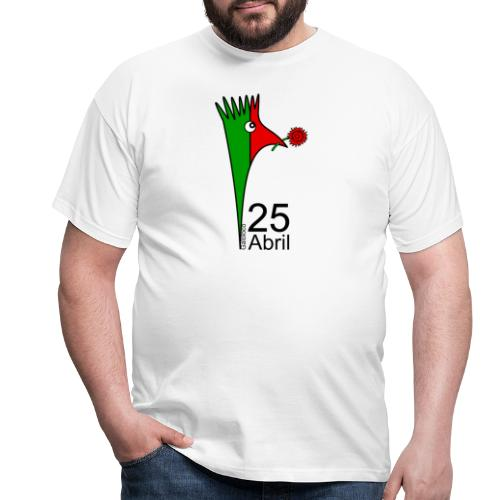 Galoloco - 25 Abril - Männer T-Shirt