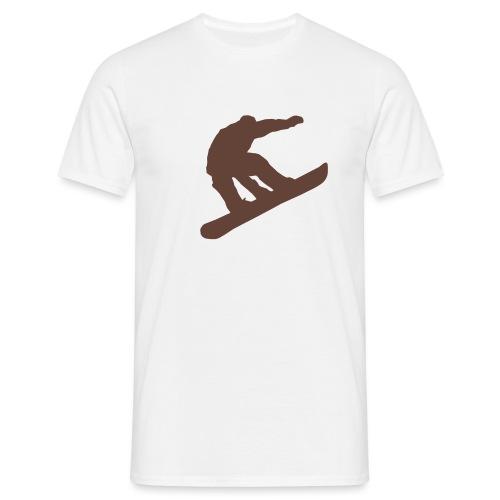 snowboard - Männer T-Shirt