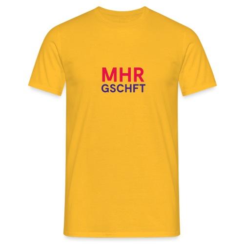 MHR GSCHFT (rot/blau) - Männer T-Shirt