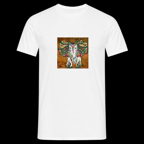 elefante - Mannen T-shirt