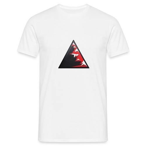 Climb high as a mountains to achieve high - Men's T-Shirt