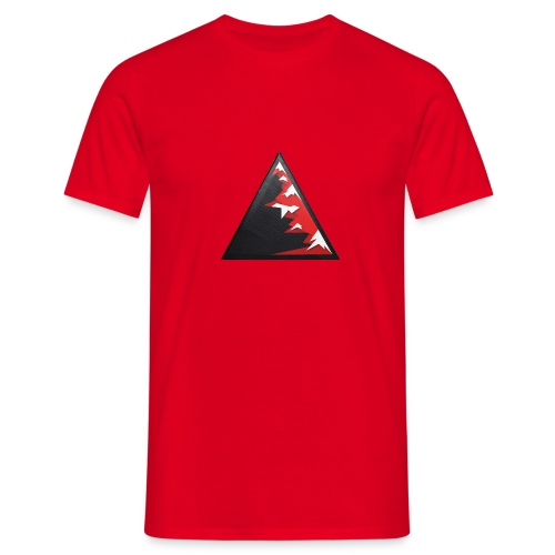 Climb high as a mountains to achieve high - Men's T-Shirt